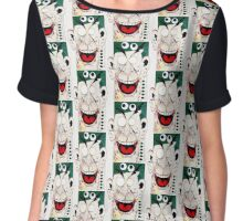 Maniacal Laughter Chiffon Top