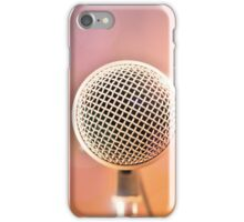 Just sing a song iPhone Case/Skin