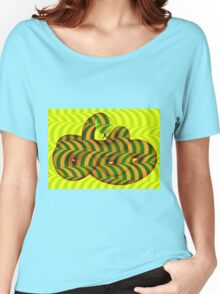 OP Snake Saturation 2 Women's Relaxed Fit T-Shirt