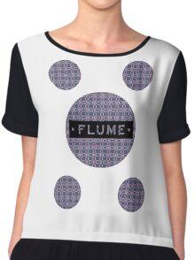 Flume - MultiRound  Chiffon Top