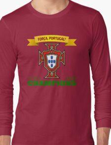 Euro 2016 Football - Team Portugal Long Sleeve T-Shirt