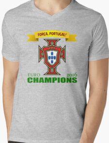 Euro 2016 Football - Team Portugal Mens V-Neck T-Shirt
