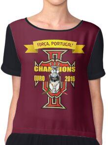 Euro 2016 Football - Team Portugal Chiffon Top
