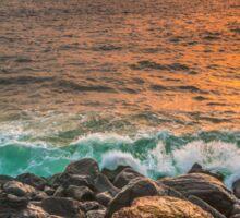 Atlantic Ocean Shores Sticker