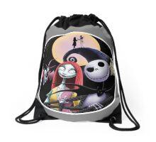 Nightmare before christmas Drawstring Bag