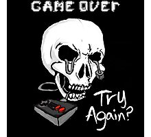 Game Over. Try Again? Photographic Print