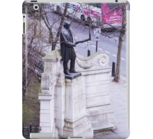 London and its statues iPad Case/Skin