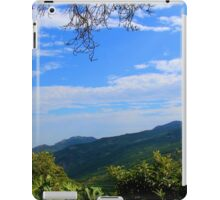 Scenic South American Mountain View iPad Case/Skin