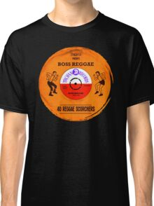 "TROJAN RECORDS VINYL "" BOSS REGGAE "" Classic T-Shirt"