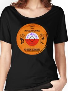 "TROJAN RECORDS VINYL "" BOSS REGGAE "" Women's Relaxed Fit T-Shirt"