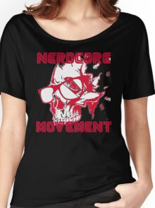 Nerdcore Robot  Women's Relaxed Fit T-Shirt