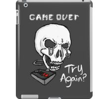 Game Over. Try Again? iPad Case/Skin