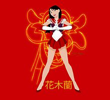 Mulan Sailor Scout by SamSteinDesigns