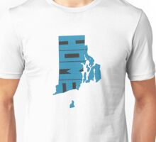 Rhode Island HOME state design Unisex T-Shirt