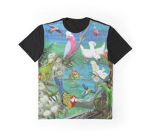 GALLIMAUFRY ~ TASMANIANA ~ Colours in Flight by tasmanianartist Graphic T-Shirt