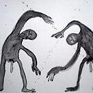 UNA PELEA (a fight) by Alvaro Sánchez