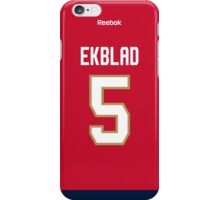 Florida Panthers Aaron Ekblad Jersey Back Phone Case iPhone Case/Skin