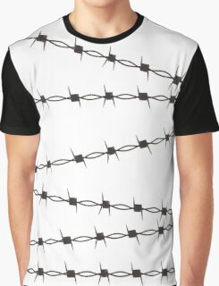 Barb Wire Graphic T-Shirt