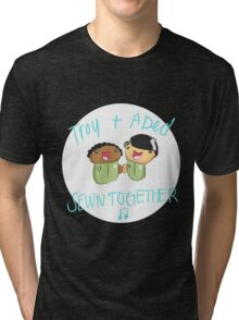 Troy and Abed Sewn Together! Tri-blend T-Shirt
