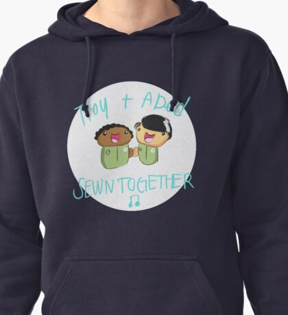 Troy and Abed Sewn Together! Pullover Hoodie