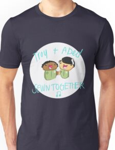 Troy and Abed Sewn Together! Unisex T-Shirt