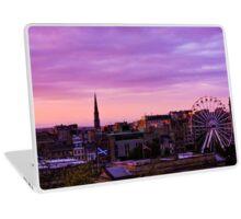 Edinburgh Sunset  Laptop Skin