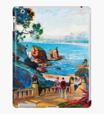 Royan sur L'Ocean, French Travel Poster iPad Case/Skin