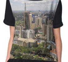 Downtown Nairobi Chiffon Top