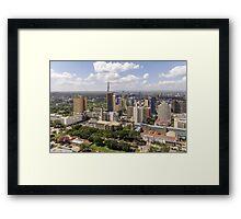 Downtown Nairobi Framed Print