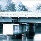 Bridge over Cooks River. Tempe N.S.W. by VenturAShot