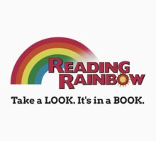Reading Rainbow - Take A Look It's In A Book Kids Tee