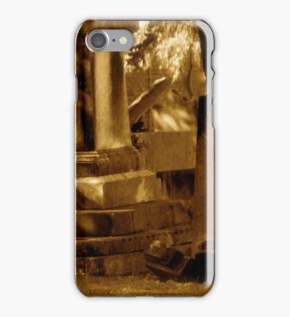 Graveyard. St Peters, N.S.W. iPhone Case/Skin