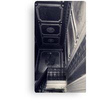 apartments. top floor Canvas Print