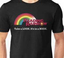 Reading Rainbow - Take A Look It's In A Book Unisex T-Shirt