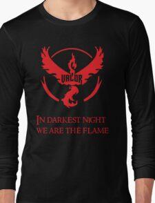 Team Valor Motto Long Sleeve T-Shirt