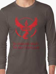 Team Valor Motto Long Sleeve T-Shirt