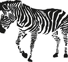 Cool zebra print by danmitchell