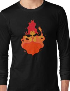 flame princess Long Sleeve T-Shirt