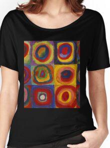 Kandinsky pattern Women's Relaxed Fit T-Shirt