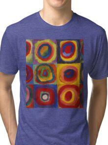 Kandinsky pattern Tri-blend T-Shirt