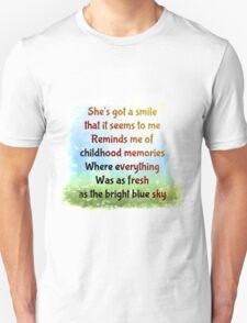 Sweet Child o Mine Unisex T-Shirt
