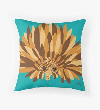 The Echidna Throw Pillow