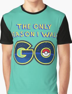 Pokemon Go! Graphic T-Shirt