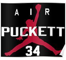 Kirby Puckett - Air Puckett Poster