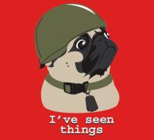 Pug of War Baby Tee