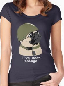 Pug of War Women's Fitted Scoop T-Shirt