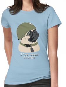Pug of War Womens Fitted T-Shirt