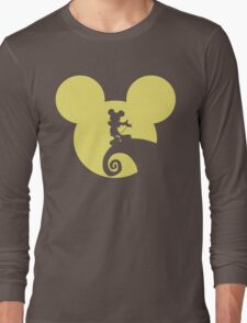 Mickey Skellington Long Sleeve T-Shirt