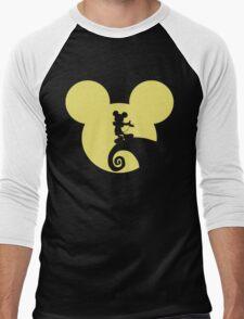 Mickey Skellington Men's Baseball ¾ T-Shirt