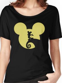 Mickey Skellington Women's Relaxed Fit T-Shirt